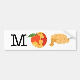 Fun Impeach Trump Rebus Picture Puzzle Bumper Sticker