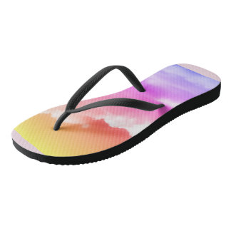 Fun in the Clouds Adult Flip Flops