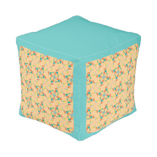 Fun in the Sun Cocktails Pouf