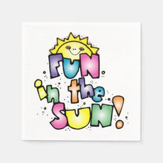 Fun in the Sun Disposable Serviette