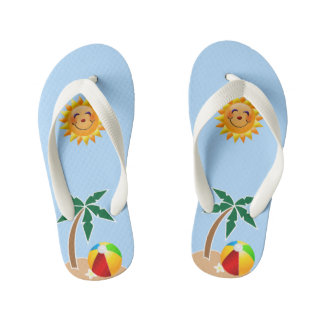 Fun In The Sun Flip Flops, Kids Sizes Available Thongs