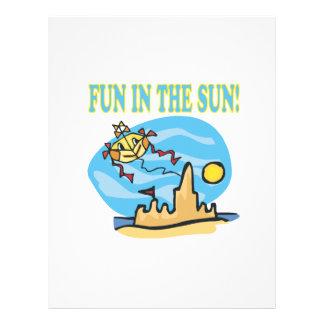 Fun In The Sun Flyer Design