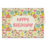 Fun in the Sun Happy Birthday Greeting Card