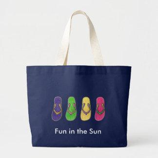 Fun in the Sun Large Tote Bag