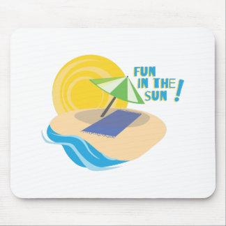 Fun In The Sun! Mousepad