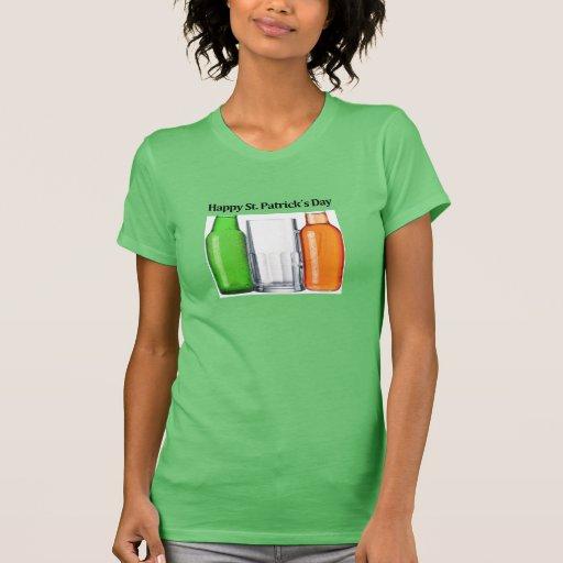 Fun Irish flag: Happy St. Patrick´s Day T-shirts
