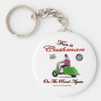 Fun Is Cushman On The Road Again Key Ring