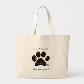 Fun items to raise awareness large tote bag