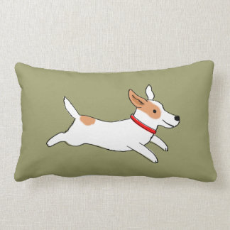 Fun Jack Russell Terrier - Color Customizable Cushions