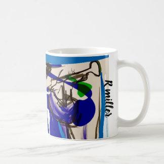 Fun jazz coffee mug