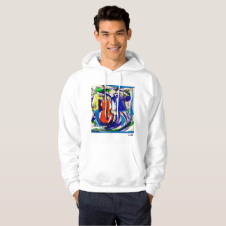 Fun jazz hoodie
