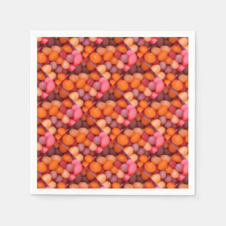Fun Jelly Beans Candy Pattern Paper Napkin
