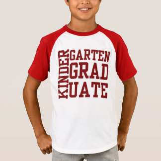 FUN Kindergarten GRADUATE Tees