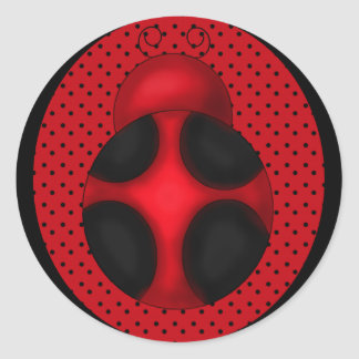 Fun Ladybug sticker