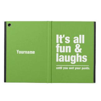 FUN & LAUGHS custom color cases iPad Air Cases
