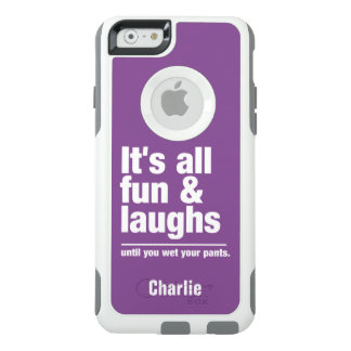 FUN & LAUGHS custom name & color phone cases
