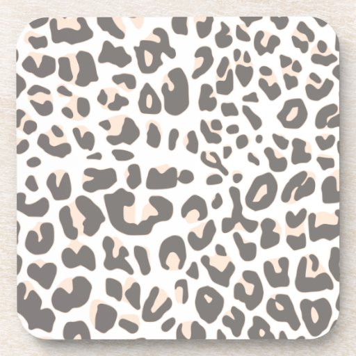 Fun Leopard Print Coasters