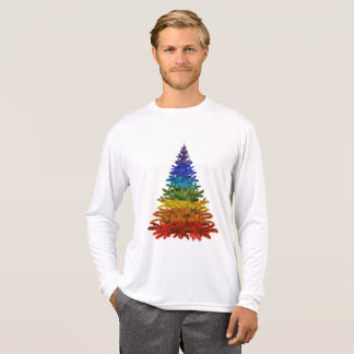 Fun LGBT Christmas long sleeve T-shirt
