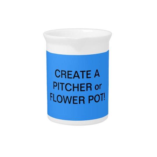 Fun! Make a FLOWER VASE or PITCHER! Beverage Pitcher