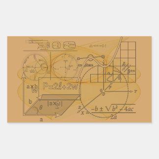 Fun Mathematics Physics Science Formulas Stickers