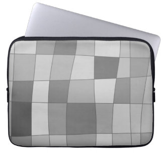 Fun Mirror Checks Laptop Sleeve
