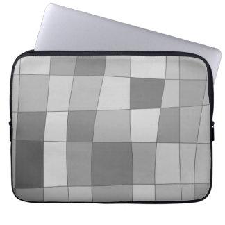 Fun Mirror Checks Laptop Sleeves