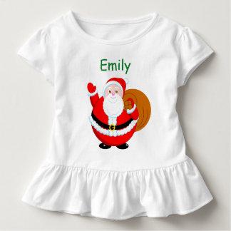 Fun modern cartoon of a jolly Santa Claus, Toddler T-Shirt