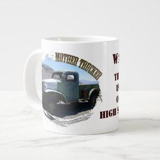 Fun Mother Trucker Jumbo Mug! Jumbo Mug