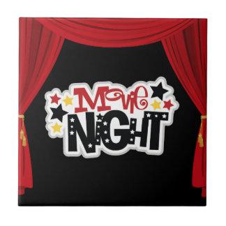 Fun Movie night home theater tile
