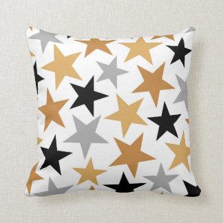 Fun Movie theater stars pattern decor pillow