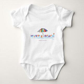 Fun Myrtle Beach, SC Jersey Body Suit Baby Bodysuit