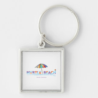 Fun Myrtle Beach, SC Key Ring