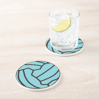 Fun Netball Themed Ball Design Coaster