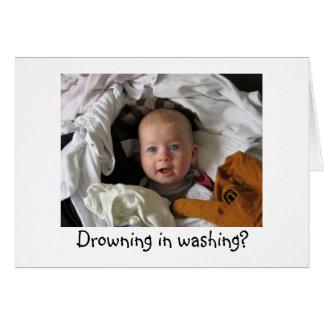 Fun New Baby Pledge Card