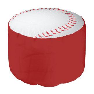 Fun Novelty Baseball Sport Themed Round Pouf