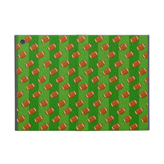 Fun Novelty Football and Green Grass Pattern iPad Mini Covers
