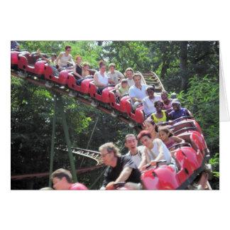 Fun on the Roller coaster Card