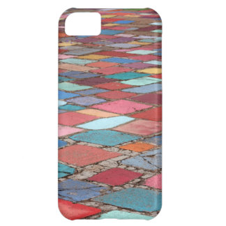 Fun Painted Cement Squares iPhone 5C Covers