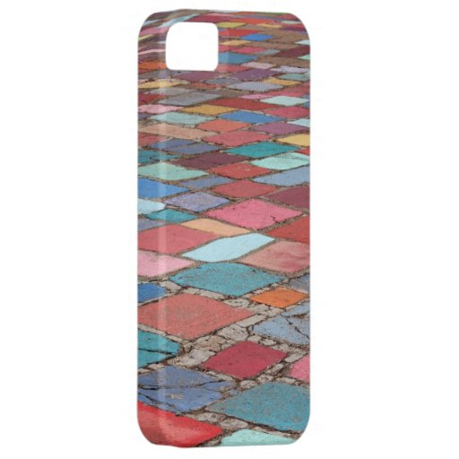 Fun Painted Cement Squares iPhone 5 Cover