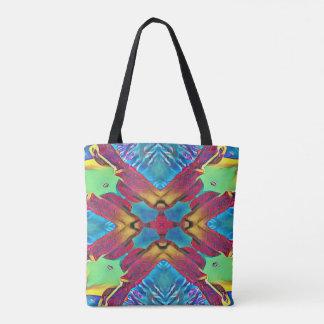 Fun pattern for early fall season. tote bag
