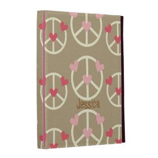 Fun Peace Sign iPad Folio Cover