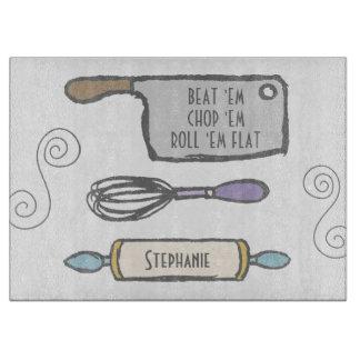 Fun Personalised Kitchen Tools Cutting Board
