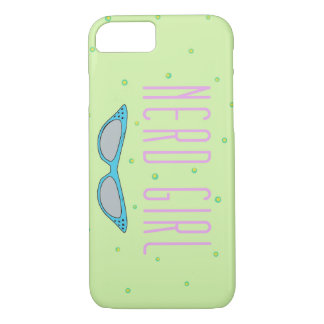 Fun phone case - Nerd Girl