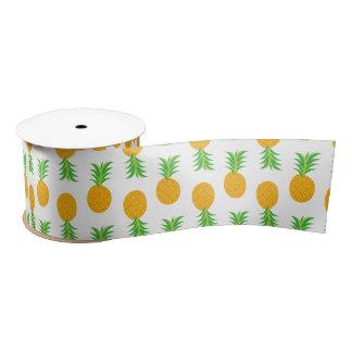 Fun Pineapple Pattern ribbon Satin Ribbon