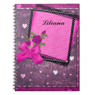 Fun Pink Notebook