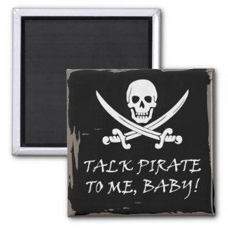Fun Pirate Talk Magnet
