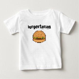 Fun Pixel art Hamburger Baby T-Shirt