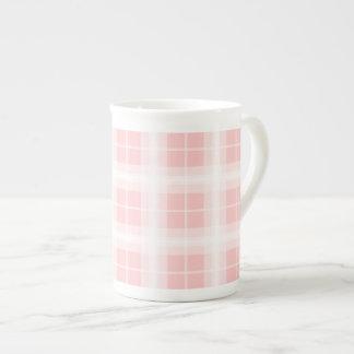 Fun Plaid Porcelain Mug