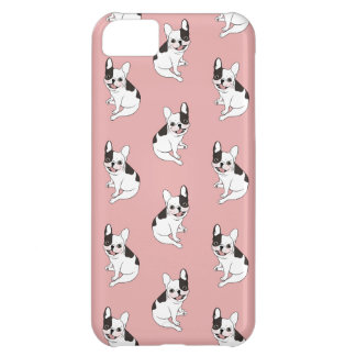 Fun playtime for the Single hooded pied Frenchie iPhone 5C Case