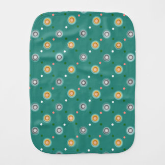 Fun Polka Dot Print Burp Cloth